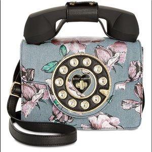Betsey Johnson Phone Crossbody Bag! NWT!